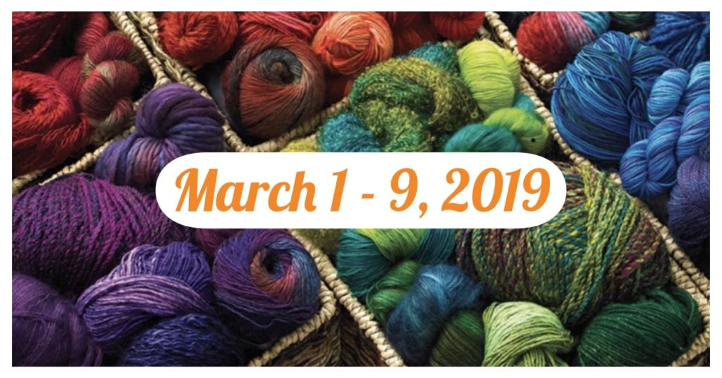 orange blossom yarn crawl 2019